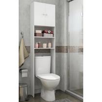 Armário Multimóveis p/ Banheiro 2 Portas Branco -