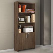 Armário Multiuso 2 Portas Para Escritório Office Notável Móveis Nogal -