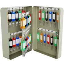 Armário Organizador de Chaves (Claviculário) com Capacidade para 48 chaveiros Ref. TS48 Menno -