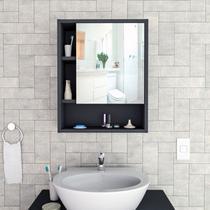 Armário Para Banheiro C/ Espelho Slim Appunto 1 Porta -
