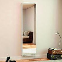 Armário Porta-Joias Dubai com Espelho Branco Politorno -