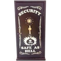 Armário Porta Objetos Cofre Security - Versare Anos Dourados