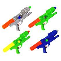 Arminha de Água Lançador Flix de 30cm e 400ML de Capacidade - Kit com 4 Unidades - Cim Toys