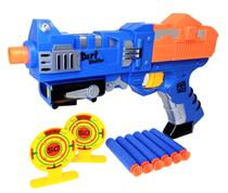 Arminha Lança Dardos X-Power Space Attack Air Shoot Com Refil e Alvo - 26CM - Jr Toys