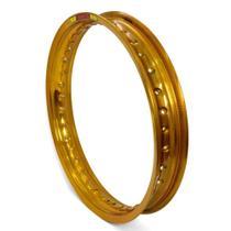Aro de Roda Aluminio Dourado 2.50 X 17 Fabreck -