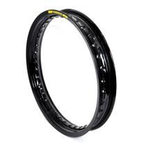 Aro de Roda Aluminio Preto Brilhante 1.85 X 14 Fabreck -