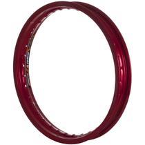 Aro Dianteiro 21x1.60 Eninco Alumínio 125/Falcon/DT Vermelho -