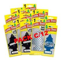 Aromatizante Ambiente Automotivo Little Trees - Pack C/12 - Minhacompra.net