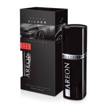 Aromatizante De Carro Areon For Car Silver 50ml - Perfume Automotivo -