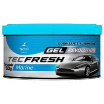 Aromatizante Tecfresh Gel Revolution Marine 60g Tecbril -