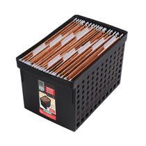 Arquivo médio preto para pastas suspensas - 70122 - Ordene -