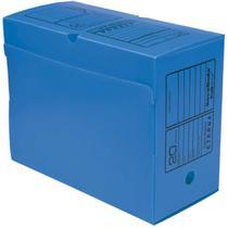 Arquivo Morto Polipropileno Novaonda Gigante Azul 38X17X29 Polibras Pct.C/10 -