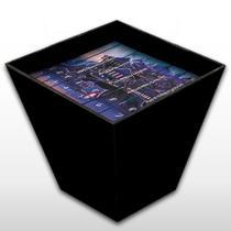 Arquivo X - Caixa Box De Madeira Mdf Decorativa - Mr. Rock E Geek