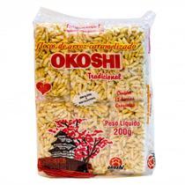 Arroz Caramelizado Em Flocos Okoshi Tradicional 200g - Hikage