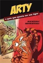Arty - o gato que queria ser um tigre - Scortecci Editora -