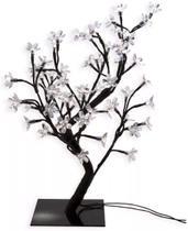 Árvore Abajur Cerejeira 48 Leds Fixo Branco Quente Bivolt - Mefi