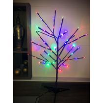 Árvore Abajur Led Decoração Luminária Luz Colorida 220V - West
