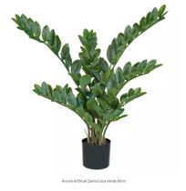 Árvore Artificial Zamioculca Verde 90cm - Florescer Decor