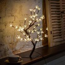 Arvore cerejeira 48l branco quente - Azy Comercial