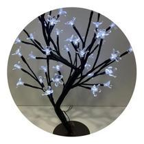 Arvore Cerejeira 96LEDS 80CM Branca - Wincy - Wincy Natal