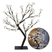 Árvore Cerejeira Led Branco 45cm - Wincy