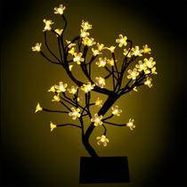 Árvore Cerejeira Luminária 45cm 127V Luz Fixa - Magizi