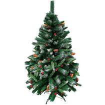 Árvore De Natal Decorada Alpina Nevada Pinheiro Verde 180cm 660 Galhos - Magizi - Yangzi