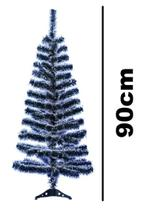 Arvore De Natal Nevada Pinheiro Com 90 Galhos e Base 90cm - Rio Master
