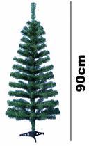 Arvore De Natal Pinheiro Canadense 90 Galhos E Base 90cm - Rio Master