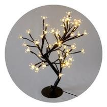 Árvore Flor Cerejeira Luminária 48 LEDS Bivolt - Sunflower