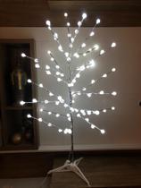 Árvore Led Decoração Luminária Bolinha Branco Frio 110v - West