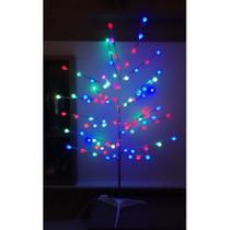 Árvore Led Decoração Luminária Bolinha Colorida 110v - West