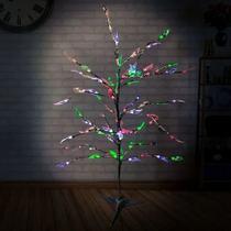 Árvore Led Decoração Natal Luminária Folha Colorida 220v - West