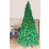 Arvore natal pinheiro luxo verde  350cm/4050gl pe de ferro - c.o -