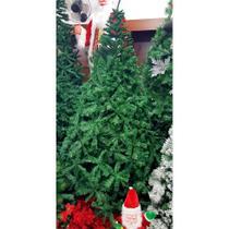 Arvore natal pinheiro super luxo verde  210cm/1980gl pe de ferro centro oes - C.O