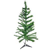 Arvore natal pinheiro verde 90cm/100galhos centro oes - C.O