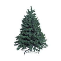 Arvore Natal Verde Cerdas PVC Base de Ferro 90cm 97 Hástes - Cromus