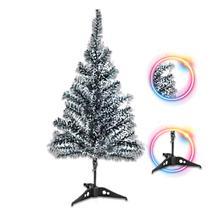 Árvore Natal Verde Neve Nevada 60CM 58 Galhos Pinheirinho - Ci