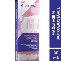 Asepxia Maquiagem Líquida Cor Autoajustável Antiacne 30mL -