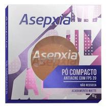 Asepxia Pó Compacto Fps 20 Bege Escuro 10g - GENOMMA