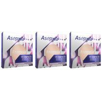 Asépxia Pó Compacto Marfim (Kit C/03) -