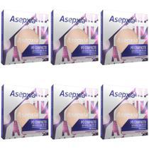 Asépxia Pó Compacto Marfim (Kit C/06) -
