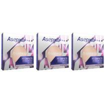 Asépxia Pó Compacto Marrom (Kit C/03) -