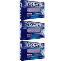 Asépxia Sabonete Adstringente Cremoso 90g (Kit C/03) -