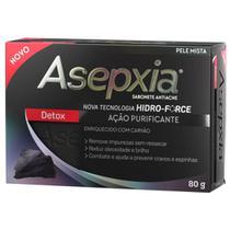 Asepxia sabonete antiacne detox ação purificante 80g -