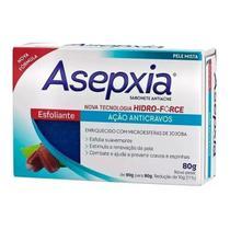 Asepxia Sabonete Antiacne Esfoliante Ação Anticravos 80g -