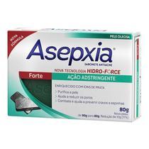 Asepxia sabonete antiacne forte ação adstringente 80g -
