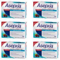 Asépxia Sabonete Esfoliante 80g (Kit C/06) -