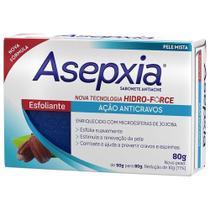 Asepxia Sabonete Esfoliante 80g -