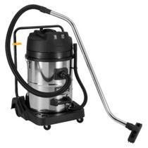 Aspirador De Água E Pó Inox 70 Litros 2000w C/2 Motor Schulz -